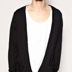 ASOS Long Length Low Break Double Breasted Cardigan £13