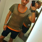 H&M trend; Tanktop, tee and shorts