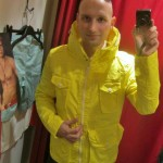 Yellow sailorjacket by H&M 799sek