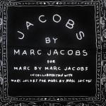 Jacobs by Marc Jacobs printed scarf